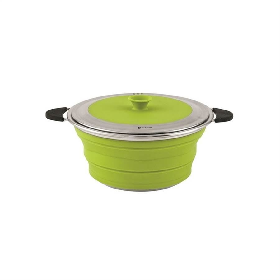 Outwell Collaps Gryte med lokk 2.5L Lime Green